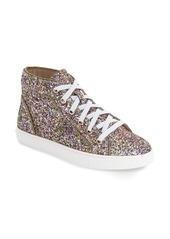 Steve Madden 'Levels' Glitter High Top Sneaker (Women)