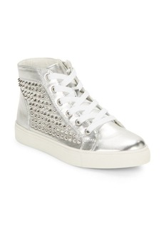 Steve Madden Levine Studded High-Top Sneakers