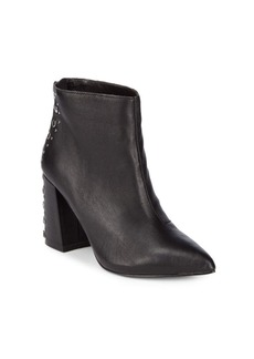 Steve Madden Lewis Studded Leather Booties