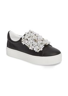 Steve Madden Lion Embellished Slip-On Platform Sneaker (Women)