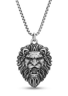 Steve Madden Lion Head Pendant Necklace