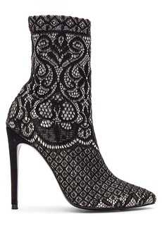 Steve Madden Lovely Lace Bootie in Black. - size 5.5 (also in 10,6,6.5,7,7.5,8,8.5,9,9.5)