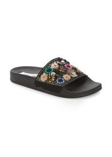Steve Madden Maddy Embellished Slide Sandal (Women)