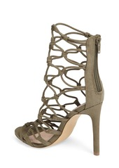 Steve Madden Mayfair Latticework Tall Sandal (Women)