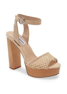 Steve Madden McKinley Platform Block Heel Sandal (Women)