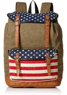 Steve Madden Men's Americana Utility Backpack