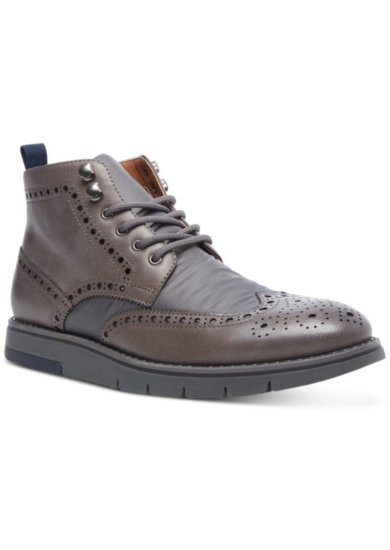 Steve Madden Men's Botine Wingtip Boots Men's Shoes