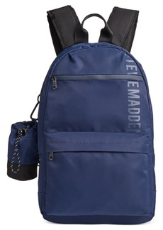 Steve Madden Men's Backpack with Water Bottle Pouch