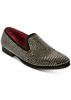 Steve Madden Men's Caviarr Rhinestone Smoking Slipper Men's Shoes