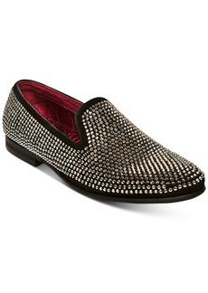 Steve Madden Men's Caviar Rhinestone Smoking Slipper Men's Shoes