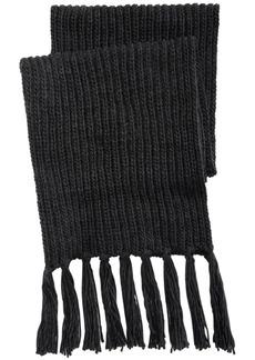 Steve Madden Men's Chunky-Knit Fringed Scarf