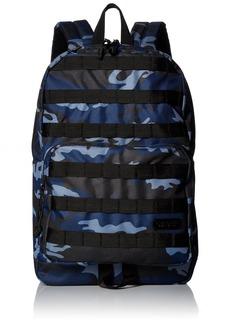 Steve Madden Men's Classic Backpack Blue camo Print