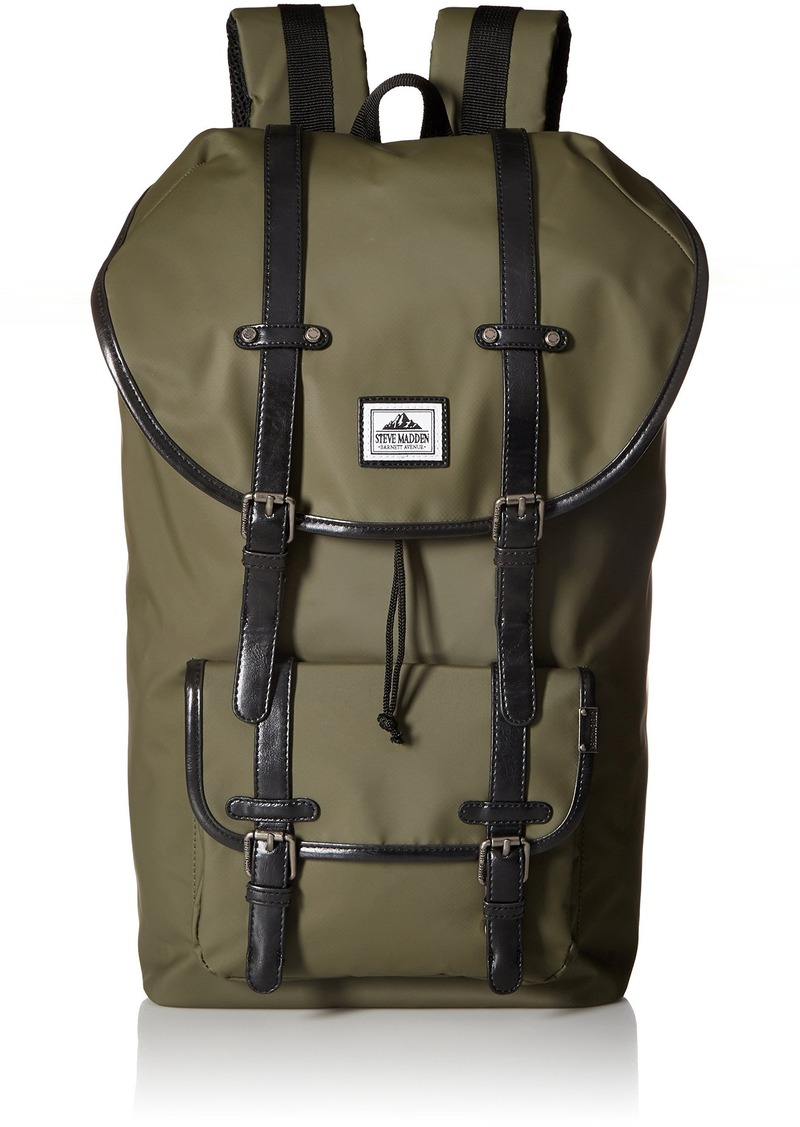 Steve Madden Men's Coated Utility Backpack