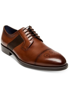 Steve Madden Men's Comeback Cap-Toe Leather Oxfords Men's Shoes