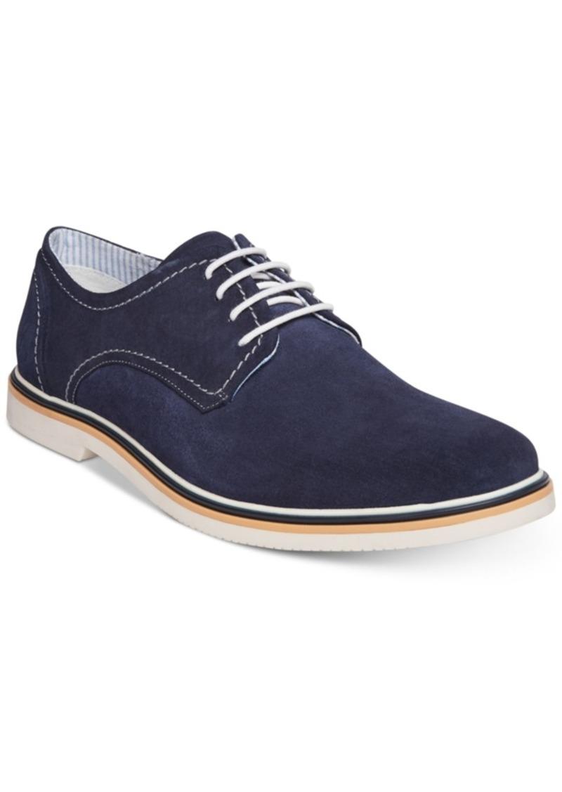 7182a8fa1c3 Men's Frick Suede Plain-Toe Lace-Up Oxfords Men's Shoes