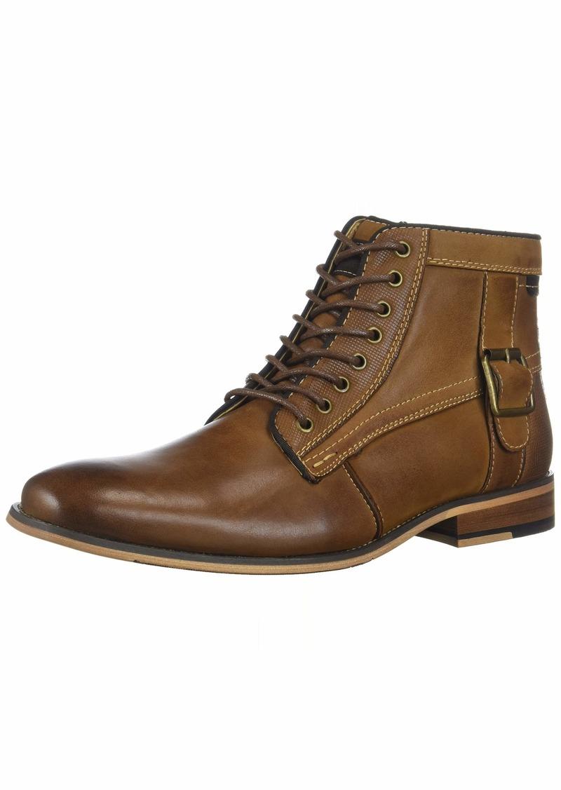 Steve Madden Men's JONSTEN Ankle Boot Dark tan  M US
