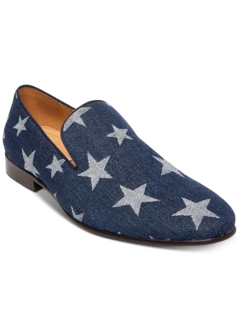 Steve Madden Men's Lonestar Printed Loafers Men's Shoes