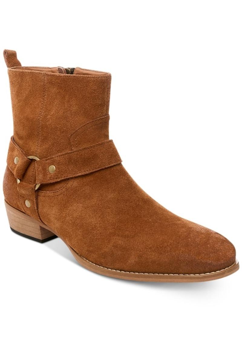 946a44989e3 Steve Madden Steve Madden Men s Palazzo Suede Side-Zip Boots Men s Shoes