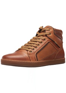 Steve Madden Men's Prinz Fashion Sneaker Dark tan  UK/US Size Conversion M US
