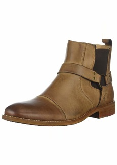 Steve Madden Men's Radian Chelsea Boot Dark tan