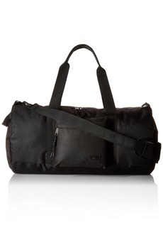 Steve Madden Men's Solid Nylon Duffle deep Black