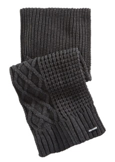 Steve Madden Men's Textured Scarf