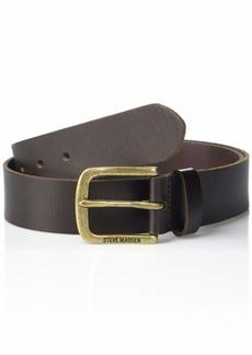 Steve Madden Men's Vintage Inspired Leather Belt