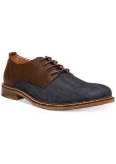 Steve Madden Men's Yeller Mixed-Media Casual Oxfords Men's Shoes