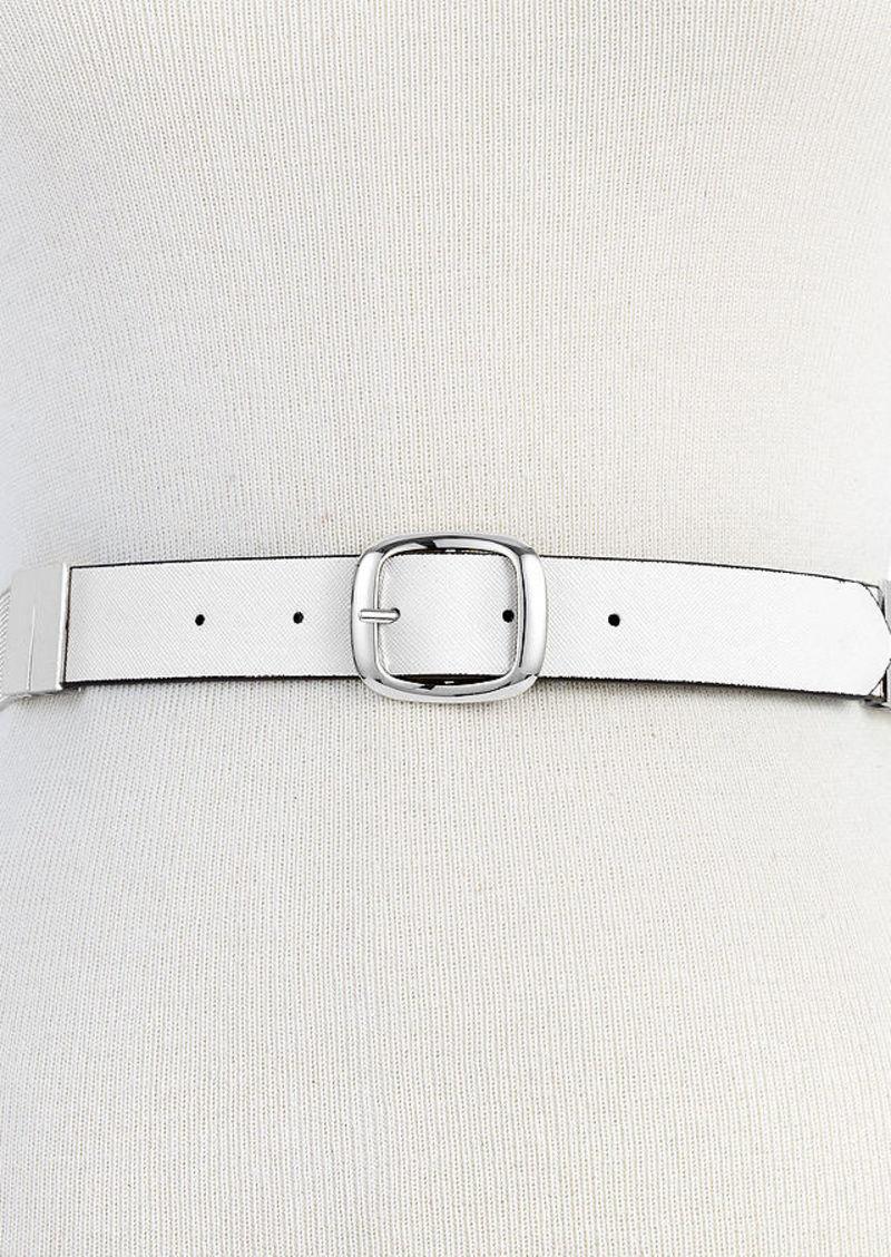 Steve Madden Metal Mesh Reversible Belt
