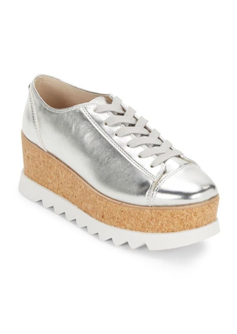 2a57e81f712 SALE! Steve Madden Steve Madden Kelani Metallic Lace-Up Sneakers