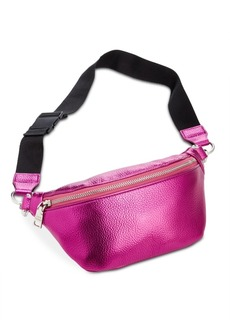 Steve Madden Metallic Pebble Belt Bag