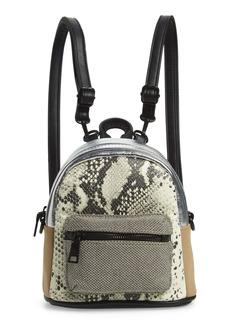 Steve Madden Mini Mixed Media Convertible Backpack