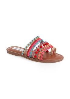 Steve Madden Multicolor Slide Sandal (Women)
