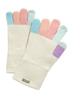 Steve Madden Multicolored-Finger Magic Gloves