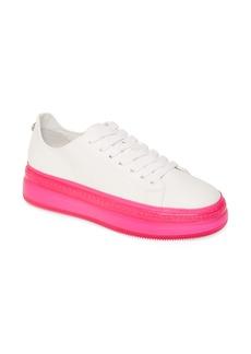 Steve Madden Neon Platform Sneaker (Women)