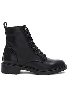 Steve Madden Officer Boot in Black. - size 8 (also in 10,6,6.5,7.5,8.5,9,9.5)