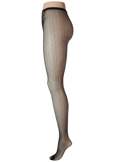 Steve Madden Open Work Fishnet Tights