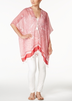 Steve Madden Paisley Tassel Kimono