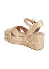 Steve Madden Pam Espadrille Platform Wedge Sandal (Women)