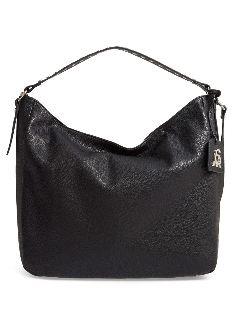 Steve Madden Pebbled Leather Convertible Hobo