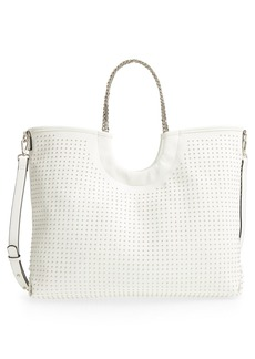 Steve Madden Pin Stud Faux Leather Tote
