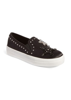 Steve Madden Pluto Embellished Slip-On Sneaker (Women)
