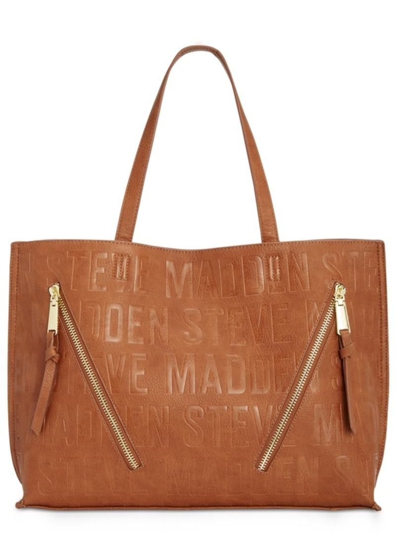Queenie Logo Large Tote Steve Madden