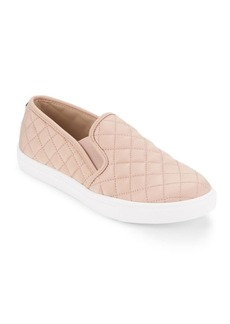 Steve Madden Quilted Slip-On Sneakers