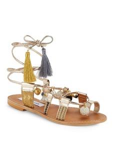 Steve Madden Rambel Tassel Embellished Sandals