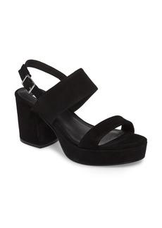 Steve Madden Reba Slingback Platform Sandal (Women)