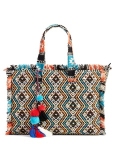 Steve Madden Resort Embroidered Tote
