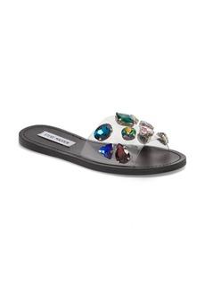 Steve Madden Rosalyn Embellished Slide Sandal (Women)