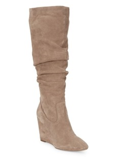 Samaya Suede Wedged Boots