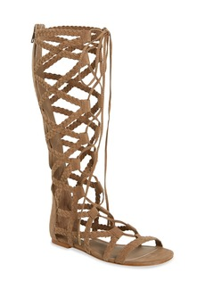 Steve Madden 'Sammson' Lace-Up Gladiator Sandal (Women)